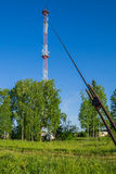 Cellular Communication Tower Stock Photo