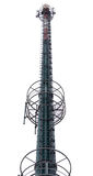 Cellular communication tower Stock Photos