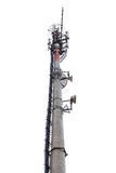 Cellular communication tower Royalty Free Stock Photography