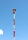 Cellular communications tower Stock Photos