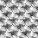 Cellular geometric pattern, seamlessly repeatable. Abstract mono. Chrome background. - Royalty free vector illustration Stock Image