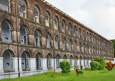 Cellular jail. At Port blair, Andaman and Nicobar Islands India, The jail was built by British and was used as confinement for Indian freedom fighters Royalty Free Stock Image