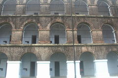 Cellular jail. Stock Images