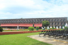 Cellular jail -1. Stock Photo