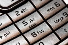 Cellular keypad Royalty Free Stock Photo