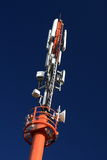 Cellular microwave tower #3 royalty free stock photo