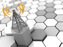 Cellular network Stock Images