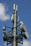 Cellular phone network mast Stock Images