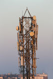 Cellular phone tower Stock Photos