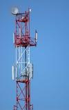 Cellular pillar. A top part Royalty Free Stock Images