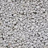 Cellular porous concrete block fragment Stock Photo