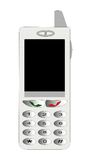 Cellular telephone. The isolated figure of a cellular telephone with the big display Stock Image