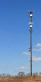 Cellular telephone tower Stock Images