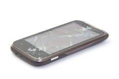 Cellulare rotto Fotografia Stock
