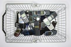 Cellulari Fotografia Stock Libera da Diritti