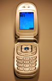 Cellule 911 Photographie stock libre de droits