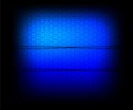 Cellule de bleu de vecteur. Image stock