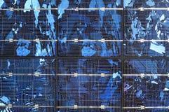cellule de fond solaire Photo libre de droits