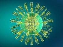 Cellule de la défense de système immunitaire Images libres de droits