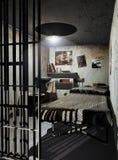 Cellule de prison illustration de vecteur