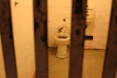 Cellule de prison d'Alcatraz Photos libres de droits