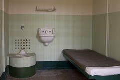 Cellule de prison normale d'Alcatraz photographie stock libre de droits