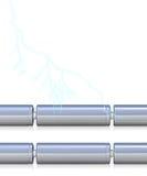 Cellule di batteria con e senza royalty illustrazione gratis