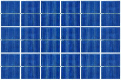 Cellule di pannelli solari Fotografia Stock