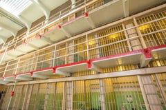 Cellule principali di Alcatraz Immagini Stock