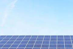 A cellule solari Fotografie Stock Libere da Diritti