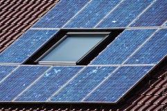 A cellule solari Fotografia Stock Libera da Diritti