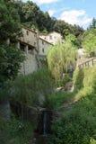 Cellules d'ermitage du St Francis d'Assisi, Photos stock