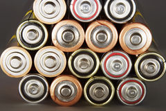 Cellules de batterie Photo stock