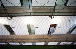 Cellules de prison photographie stock