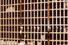 Cellules de réception photographie stock libre de droits