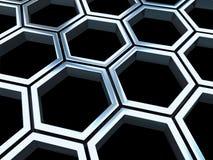 Cellules en métal Illustration Libre de Droits