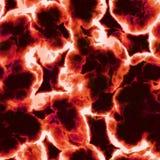 Cellules rouges microscopiques Photo libre de droits