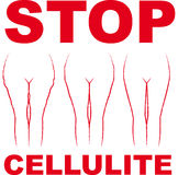 cellulite Royaltyfri Foto
