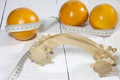 Cellulite comparison concept Royalty Free Stock Image