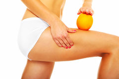 Cellulite treatment Stock Image