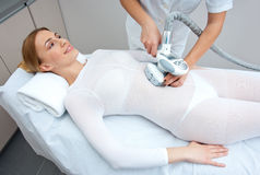 Cellulite treatment therapy Royalty Free Stock Image