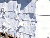 cellulosa mal pappersträmassa arkivfoto