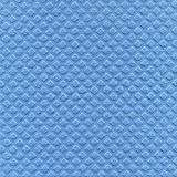 Cellulose cloth texture. Cellulose sponge cloth texture in blue as background royalty free stock image