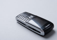 Cellural phone isolated on the gray background stock photo