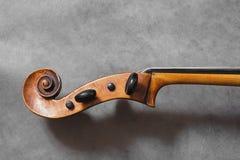 Celo de violine Photographie stock libre de droits