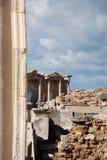 Celsius-bibliotheek in Ephesus, Izmir, Turkije, Midden-Oosten Royalty-vrije Stock Afbeelding