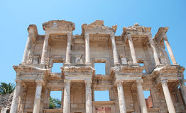 Celsius library in Efesus near Izmir, Turkey. Middle East Stock Photography