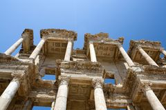 Celsius Library, Ephesus, Turkey Royalty Free Stock Photography