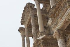 Celsus图书馆在以弗所的火鸡的 库存图片