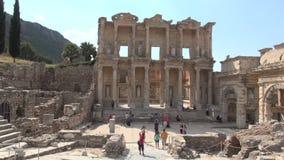 Celsus图书馆在Ephesus的 股票录像